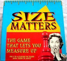 SIZE MATTERS Board Game, 2006, TDC, NEAR MINT PLUS!