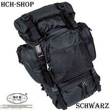 MFH Kampfrucksack Rucksack Tactical Tragegestell schwarz oliv flecktarn 55 l