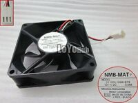 For NMB-MAT 8025 cooling fan 3110RL-04W-B79 12V 0.44A 3wire 3-Pin