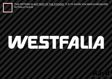 "(2x) 8"" Westfalia Sticker Decal Die Cut"