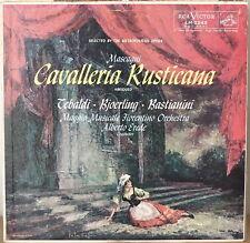 MASCAGNI: Cavalleria Rusticana-NM1958LP TEBALDI/BJOERLI