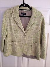Talbots Tweed Blazer Size 14 New