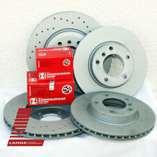 Zimmermann Disques de frein garnitures AUDI a6 4f2 c6 avant 321mm va 302mm ha sport Kit