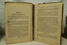 small antique old leather book The Death of Abel 1764 Bible History Religion