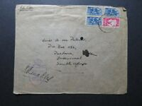 South Africa 1944 APO Censor Cover / Corner Creasing Through Stamp - Z10661