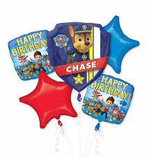 Paw Patrol (5pc) Foil Balloons Bouquet Boys Birthday Party Supplies, Decorations