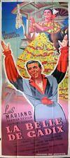 ENORME! Cartel original de cine CARMEN SEVILLA - 320x120cm - año 1951