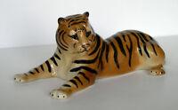 PORCELAIN Figurine TIGER.Big.UNIQUE
