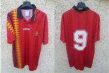 Maillot ESPAGNE SPAIN ESPANA vintage shirt World Cup 94 GUARDIOLA n°9 ADIDAS S