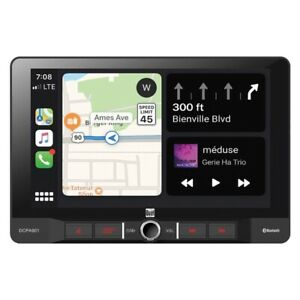 9-Inch Single-DIN In-Dash Digital Media Receiver with Bluetooth Android Auto