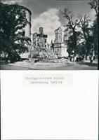 Ansichtskarte Stuttgart Altes Schloss nach der Zerstörung 1944/1965 REPRO