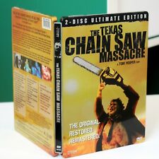 The Texas Chainsaw Massacre - Dvd 2006 (2-Disc Set, Ultimate Edition, Steelbook)