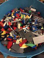 1kg Kilo 1000g Lego Bundle Mixed Bricks Parts Pieces Job Lot Free Postage