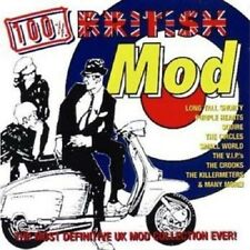 100% British Mod 2-CD NEW SEALED Killermeters/Squire/Purple Hearts/Cigarettes+