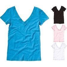 Mujer Lona Bella Relajado Jersey Largo Body Camiseta de Tirantes cd98e4c0ac82