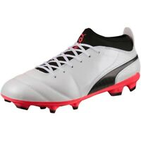 Chaussures de football Puma One 17.3 Fg 104074 01 blanc noir