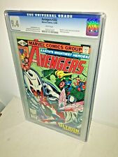 Avengers #202, CGC 9.4, White Pages