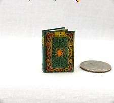THE BLACK DEATH PLAQUE Miniature Book Dollhouse 1:12 Scale Illustrated Book