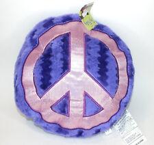 Purple Pink Peace Pillow Plushie Stuffed Toy Factory Plush Watermelon Pattern