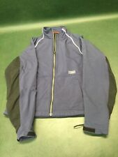 Women's Ibex Climawool Lite Zip Up Jacket Size M Navy Blue & Black