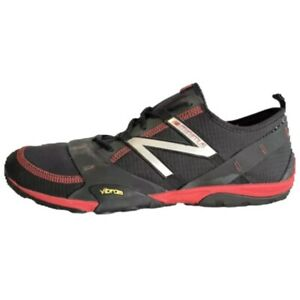 New Balance Minimus Shoes Mens 10 Trail Running Barefoot MO10WR Sneakers Red Blk