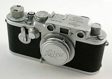 LEICA IIIf Elmar 3,5/50 50mm F3,5 red scale ST SA rangefinder M39 classic TOP