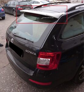 SKODA OCTAVIA III 3 MK3 AVANT / ESTATE REAR ROOF SPOILER NEW KOMBI
