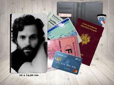 penn badgley you tv 002 carte identité grise permis passeport card holder