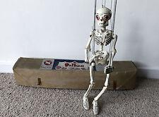 Vintage Pelham Puppet Skeleton Marionette Complete in Box & Original Packaging