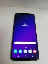 Samsung Galaxy S9+ 64GB Black SM-965U (T-Mobile) Damaged See Details JD9824