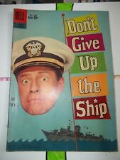 Don't Give Up the Ship Comic Book - Dell Movie Classics #1049 - Jerry Lewis