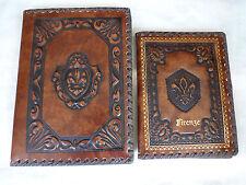 "Handmade Renaissance Style Journal Book Diary Free Phone Book ""Firenze"" Florence"