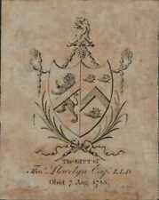 'The Gift of Thomas Llewelyn obiit. 1783'  ( Bristol Baptist College ?)   QT1603