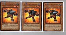 Yugioh Cards - Silver Rare Playset - 3x Neo Spacian Grand Mole DP06-EN002 1st Ed