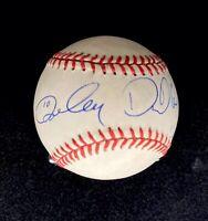 RON CEY & son DANIEL CEY Autographs - Dual-signed ONL baseball - Cubs! DODGERS!