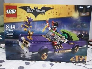 lego batman, the joker notorious lowrider, COMPLETO