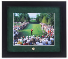 Tiger Woods 13x15 Custom Framed Photo Display with Masters Pin