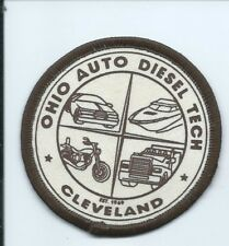 Ohio Auto Diesel Tech Cleveland OH patch 3 in dia #2069