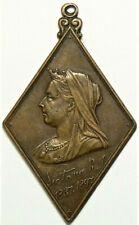 1897 Glascow Victoria Diamond Jubilee Bronze Medal #11749
