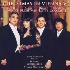 Plácido Domingo Christmas in Vienna V (1998, & Sarah Brightman, Helmut Lo.. [CD]