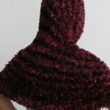 écharpe magique Noire Rouge Pouvez la porter de multiples facon. Joli cadeau
