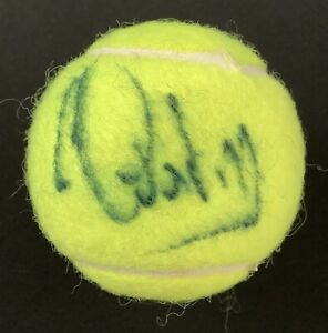 Gabriela Sabatini Signed Tennis Ball French US Open Autograph Olympic Silver JSA