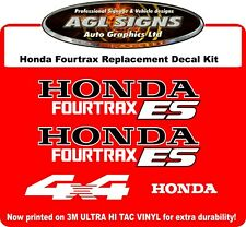 HONDA FOURTRAX ES Replacement Decal Set