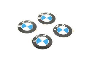 New BMW Wheel Center Cap Emblem Stickers Roundel Logo SET x4 D=58mm 36131181081