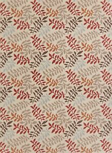 Modern Floral Agra Nature Print Oriental Area Rug All-Over Contemporary 8x11