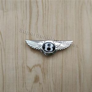 1 x Bentley Emblem Badge  Steering Wheel  Airbag 68mm x 22mm