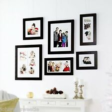 NEW Frame Huntington Gallery 4x6 Photo Picture Black White Matte Wall Shadow Box