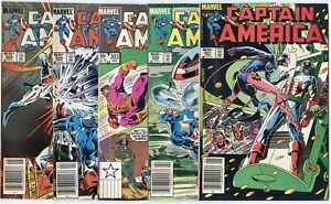 Captain America #301 - 320  Complete Run  avg. VF/NM 9.0  Marvel  1985  No Resv