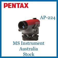 Pentax Automatic Optical Dumpy Level AP 224 X24 Zooms Australia Stock