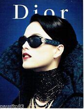 PUBLICITE ADVERTISING 106  1998  les lunettes solaires  Dior